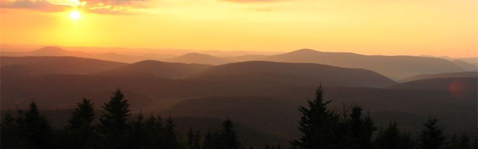 Sunset from Spruce Knob